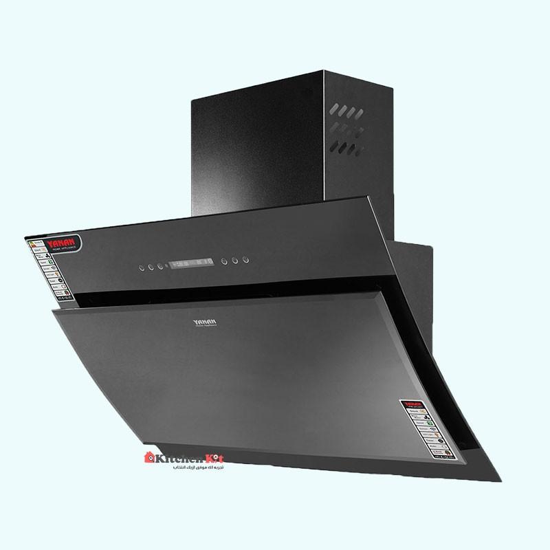 هود آشپزخانه کنترلی و لمسی یانان کد H117